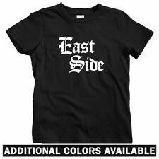East Side Gothic Kids T-shirt - Baby Toddler Youth Tee - Gangster Thug Eastside