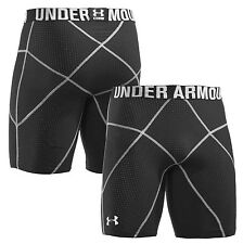 "Under Armour 9"" Core shorts prima Compression 1232703 Black Sz S NWT"