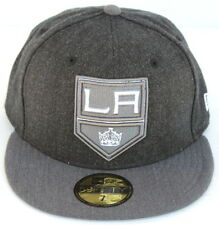 Los Angeles Kings New Era 59Fifty Shield Heather Action/NHL Shield Fitted Hat