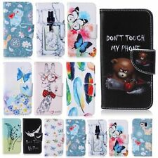 Book Cover Wallet Pattern for Samsung Galaxy Case Pouch Accessories