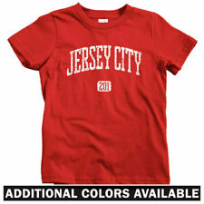 Jersey City 201 Kids T-shirt - Baby Toddler Youth Tee - New NJ Chilltown Devils