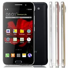 "XGODY 5.0"" Quad Core Android Cell Phone 3G/2G For AT&T Smartphone Unlocked 2SIM"