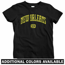 New Orleans 504 Kids T-shirt - Baby Toddler Youth Tee - Louisiana NOLA Creole LA