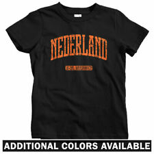 Netherlands Kids T-shirt - Baby Toddler Youth Tee - Nederland Oranje Dutch Gift