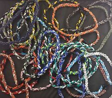 "20"" Baseball Necklace Lot Titanium Tornado Rope Sports Braid Necklaces Medium"