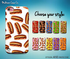 Hot Dog Bun Relish Mustard Ketchup Funny Cool Case for iPod Touch 5th 6th Gen