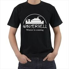 WINTERFELL Winter Is Coming Game Of Thrones T-Shirt S M L XL 2XL 3XL 4XL 5XL 6XL