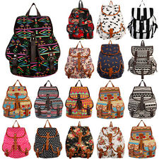 All Over Print Backpack Book Bag Pattern Fashion Animal Floral Large School Tote