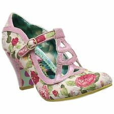 Irregular Choice Nicely Done Pink Womens Shoes