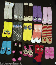 PRIMARK LADIES GIRLS COSY / SNUGGLE SOCKS or SHOE LINERS UK 4-8 EU 37-42