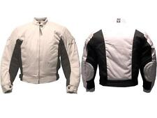 Scooter Motorcycle Jacket Cordura Lady Arlen Ness 1202 Beige Protections