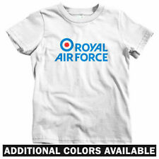 Royal Air Force Kids T-shirt - Baby Toddler Youth Tee - RAF England Britain Logo