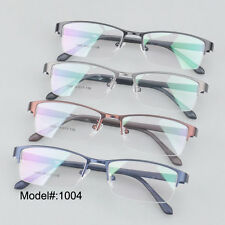 MX1004 Men halfrim glasse RX eyeglasses spectacles myopia eyewear optical frames
