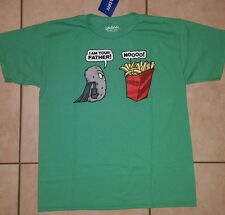 "Boys Star Wars movie spoof comical ""I Am Your Father"" Fries Potato T Shirt Tee"