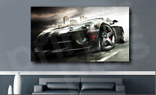 Dodge Sports Car Racing Canvas Fine Art Poster Print Home Wall Decor