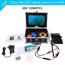 7in HD 1200TVL 15M Underwater Fish Finder Camera for Ice/Sea/River Fishing I2I5