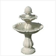FOUNTAIN WATER LAWN PATIO YARD ELECTRIC POWERED STATUARY RESIN ORNAMENTAL