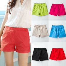 Womens Slim Casual Summer Beach Short Cotton High Waist Sports Shorts Hot Pants