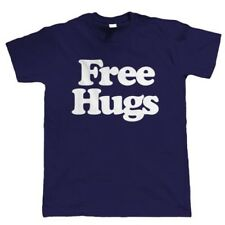 Free Hugs Mens Funny Slogan T Shirt - Birthday Gift for Him Dad Fathers Day