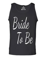 Bride To Be Men's Tank Top Marriage Wedding Bachelorette Party Tank Tops