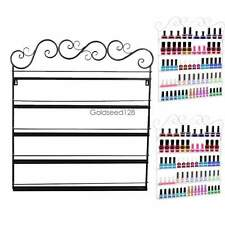 Hot Organizer Display Nail Polish Wall Mount Rack stand Up to 95 Bottles 5 Tiers