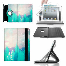 Snowy Winter Forest 360 Rotate Case - fits iPad Kindle Samsung Galaxy