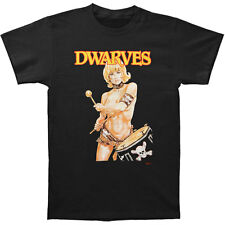 Dwarves Men's  Drummer Girl T-shirt Black