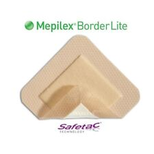 "Foam Dressing Mepilex Border Lite Wound Care - 2""x5"" Sterile (Case of 65) 281100"