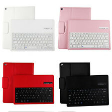 For Apple iPad Stand Leather Case Cover Wireless Bluetooth Keyboard