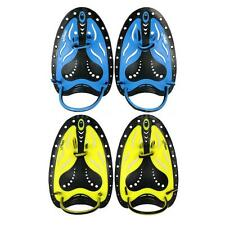 Men Adjustable Swimming Hand Paddles Fins Flippers Training Pool Diving A0Q7
