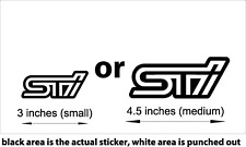 Subaru STI Sticker/Decal #60,000