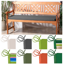 Outdoor Waterproof 3 Seater Bench Pad / Garden Furniture Swing Seat Cushion