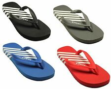 MENS NEW FLIP FLOPS K-SWISS IN BLACK RED BLUE CHARCOAL FLATS SANDAL SIZE 6-11