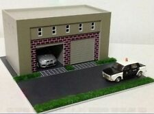 HO scale building ( Garage ) 1:87 for HO gauge model train layout