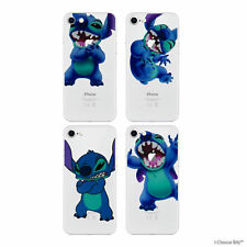 Case/Cover Apple iPhone 6s 6 + Screen Protector / Silicone Stitch Clear Gel