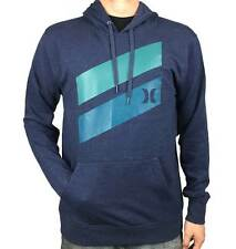 HURLEY Mens Icon Slash Pull Over Jumper. Grey / Black. Mens Size: Medium, Large.