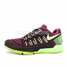 WMNS Nike Air Zoom Odyssey [749339-002] Running Black/White-Pink-Green