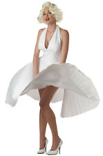 Sexy Marilyn Monroe Deluxe Movie Star Official Adult Halloween Costume