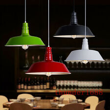 Industrial Retro Vintage Style Ceiling Pendant Lamp Light 26CM 36CM Metal Shade