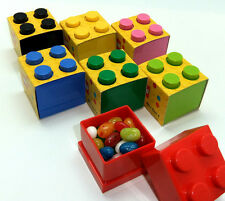 Lego Lunch/Storage Mini Box 4 For Small Snacks 7 Colors