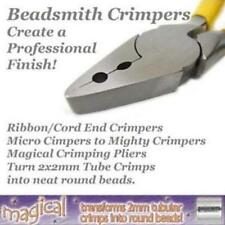 Beadsmith / Euro Crimping Pliers, choose from Crimp Sizes or Magical for Wire