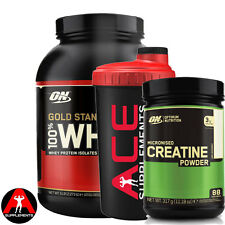 Optimum Nutrition ON 100% Gold Standard Whey 2.27kg + Free ON Pure Creatine 300g