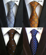 Classic Mens Neck Ties Necktie Silk Tie Lot Jacquard Woven Vintage Neckties Hot