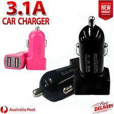 Universal USB Dual Port Car Charger Adapter For Samsung S6 S7 iPhone 5 6s Plus