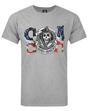 Official Sons Of Anarchy Flag Men's T-Shirt