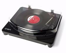 ION Audio Classic LP Record Player - Vinyl turntable with USB - Piano Black