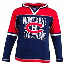 Montreal Canadiens Youth Phoenix Long Sleeve Jersey Hoodie