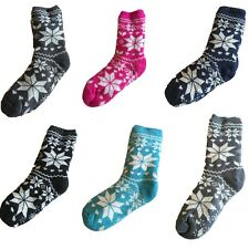 New Womens Winter Thick Fluffy Socks Warm Soft Anti Slip Indoor Bed Socks