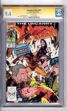 X-Men #261 CGC 9.4(SS)2x WP 'Hardcase and the..Harriers.! Jim Lee Cover!