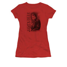 James Dean Trench Coat Licensed Womens Junior Graphic Tee Shirt SM-2XL